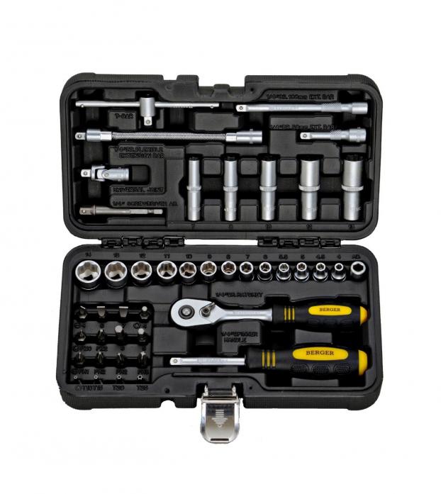 Универсальный набор инструментов 43 предмета Berger BG BG043-14