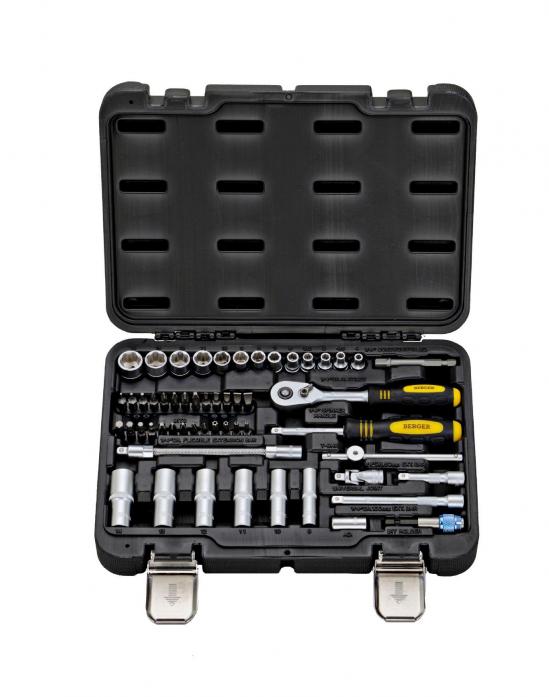 Универсальный набор инструментов 55 предметов Berger BG BG055-14