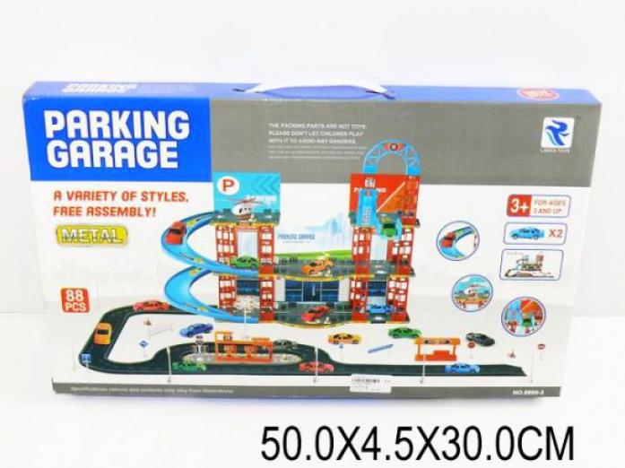 Парковка с дорогой Shantou Gepai Город 8899-3