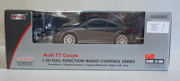 Машина радиоуправляемая MJX 1: 20 AUDI TT 8126В