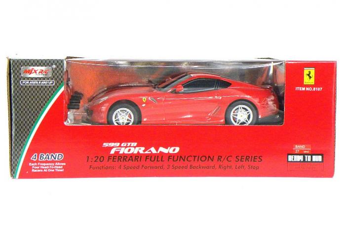 Машина радиоуправляемая MJX 1: 20 Ferrari 599 GTB Fiorano PANAMERICA 8107A