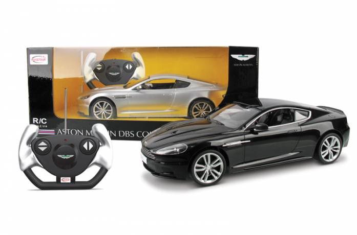 Машина радиоуправляемая Rastar 1: 14 Aston Martin DBS 42500