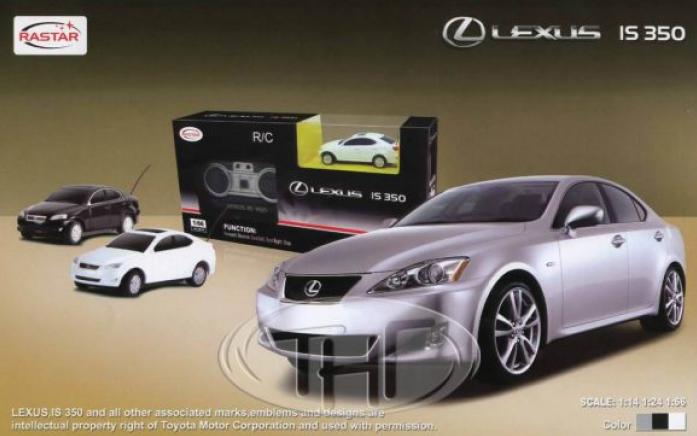 Машина радиоуправляемая Rastar 1: 14 Lexus IS 350 30800