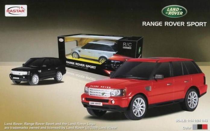 Машина радиоуправляемая Rastar 1: 14 Range Rover Sport 28200