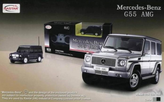 Машина радиоуправляемая Rastar 1: 14 Mersedes G55 AMG 30400