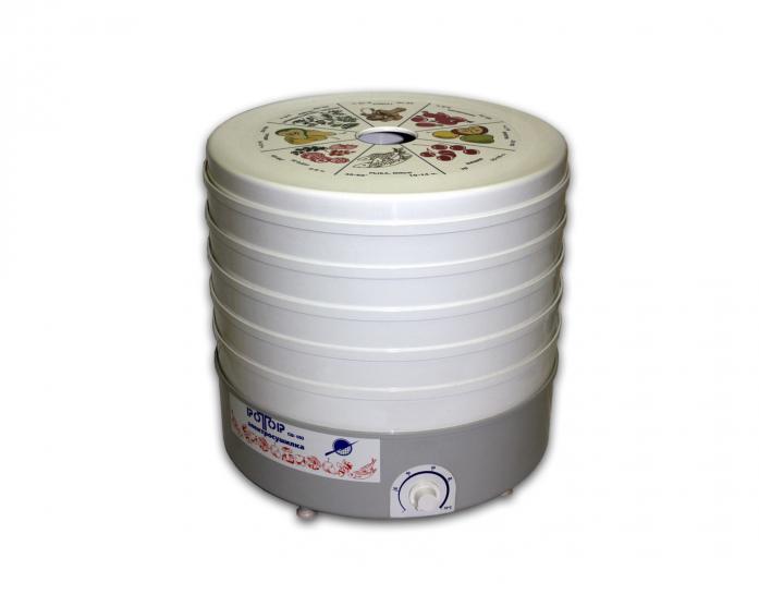 Сушилка для овощей Ротор Дива СШ-007-04 с 5 решетами