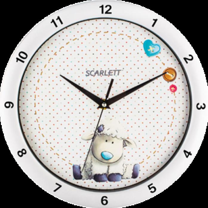 Часы Scarlett SC-WC1005I серый