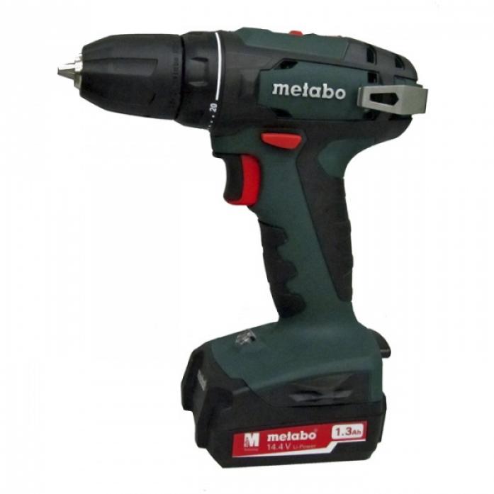 Винтоверт Metabo BS 14.4 10мм 1.3Ah x2 Case 602206500