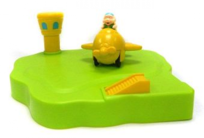 Игрушка для ванной Жирафики Аэродром 681123