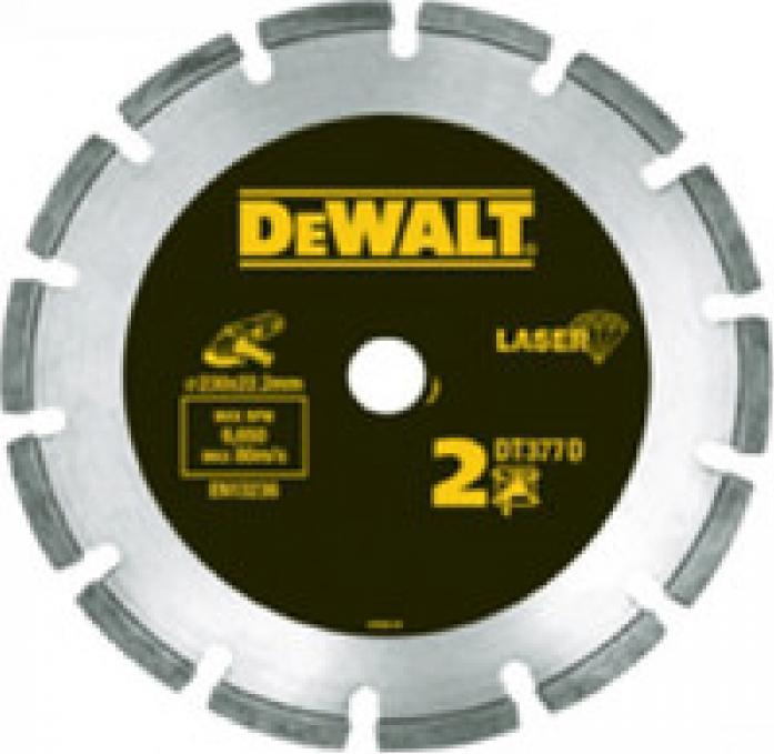 Диск алмазный DeWalt 115х22,2х2мм для УШМ DT 3770