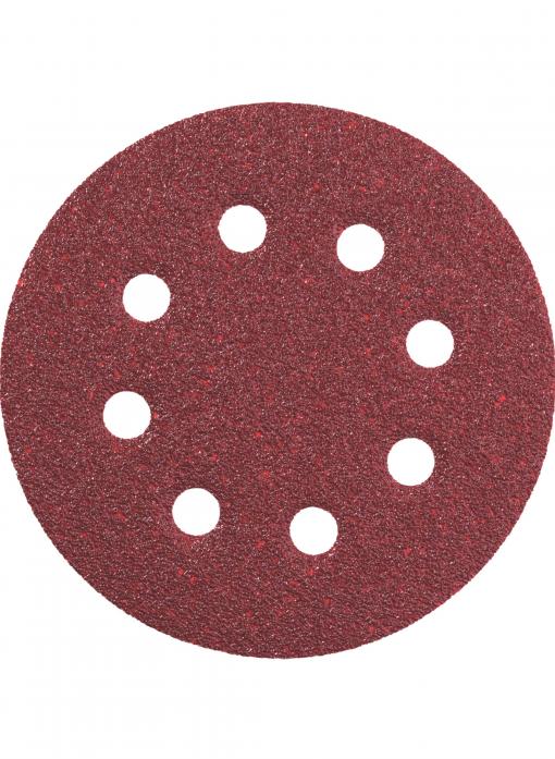 Круг шлифовальный Professional 5 шт. (125 мм; Р40) Metabo 631226000
