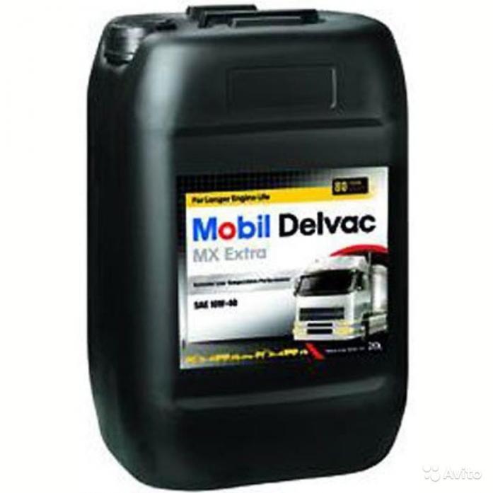 ����� �������� Mobil Delvac MX EXTRA 10W40 ���. �/� (20�)