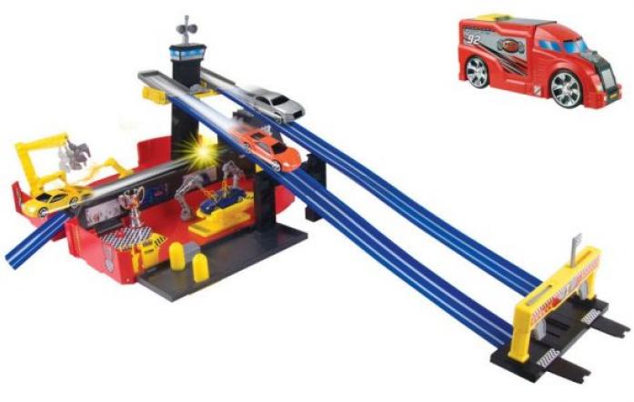 Набор-трансформер Пламенный мотор Трейлер - Авторалли 87536