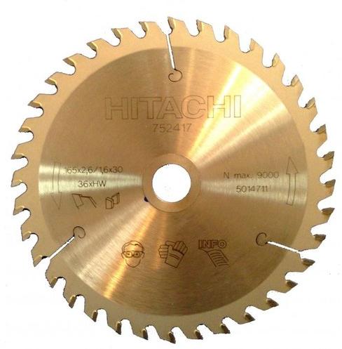 Диск пильный по древесине Hitachi 165х30/20мм Z36 HTC-752417