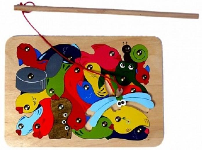 Игрушка Крона Магнитная мозаика На пруду 143-015