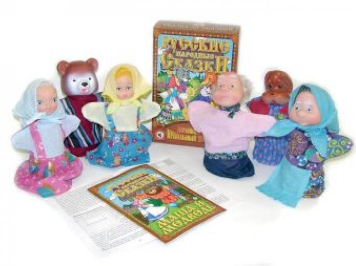 Кукольный театр Русский Стиль Маша и медведь 11203