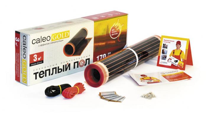 Теплый пол Caleo GOLD 170-0,5-5,0