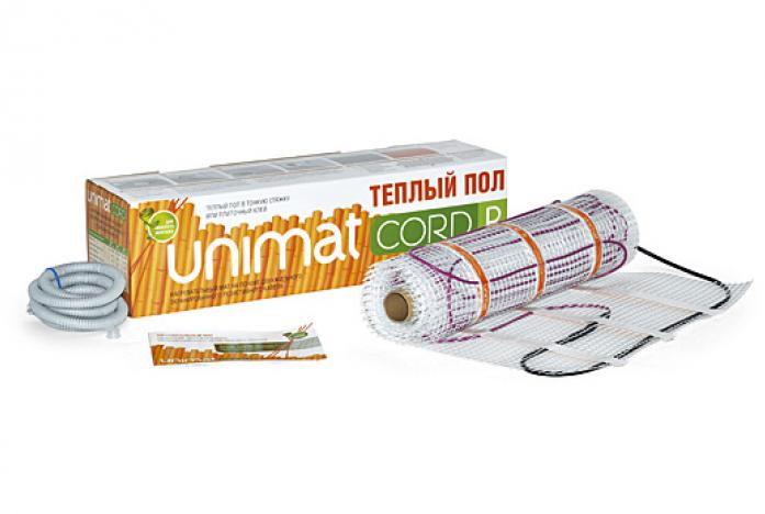 Теплый пол Caleo UNIMAT CORD P 140-0,5-3,0