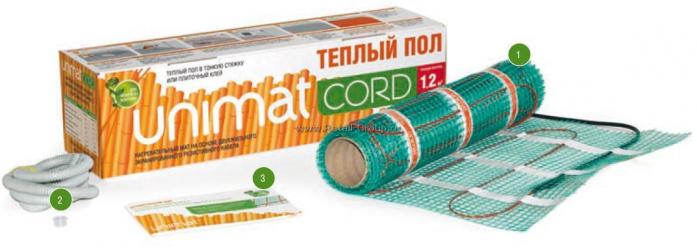 Теплый пол Caleo UNIMAT CORD T 130-0,5-3,6