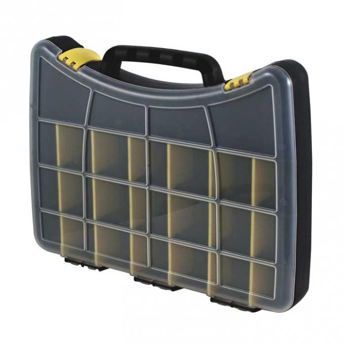 Ящик пластиковый для крепежа (400х300х60 мм) FIT 65654