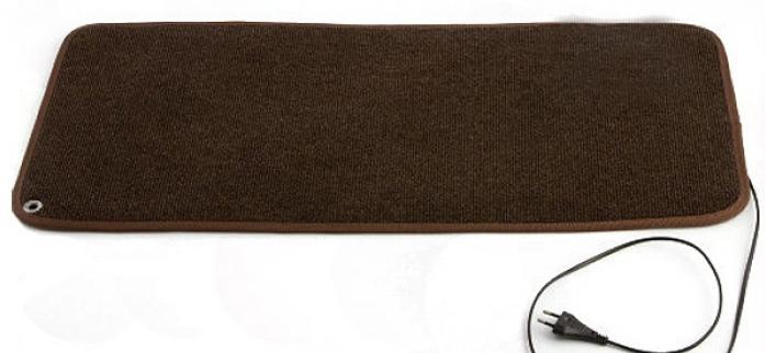 Сушилка для обуви ВЕЛИКИЕ РЕКИ ТЕПЛЫЙ КОВРИК ТК-3 коричневый
