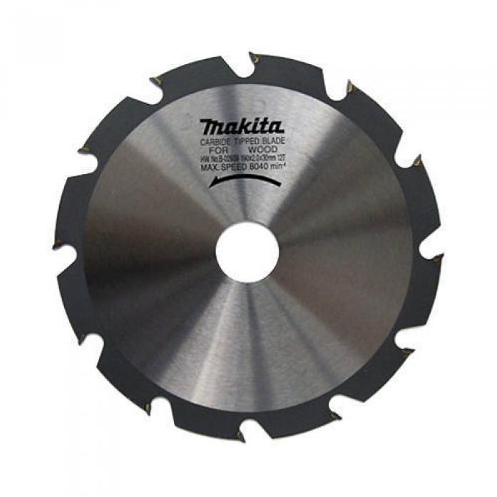 Диск пильный по дереву Makita Premium 190х20/30х2мм Z12 B-29197