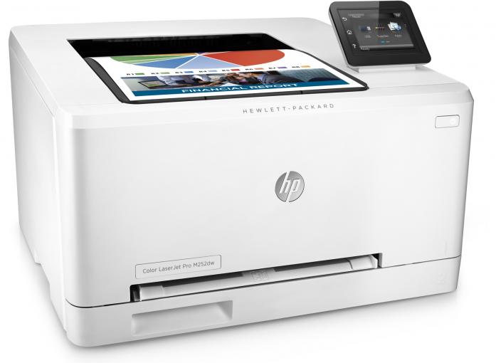 МФУ HP Color LaserJet Pro M252n B4A21A#B19