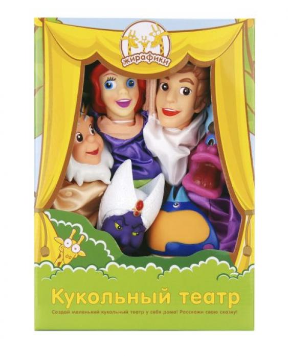 Кукольный театр Жирафики Русалочка (Сказки Моря) 6 кукол 68343