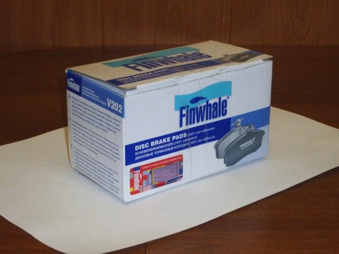 Тормозные колодки передние Finwhale V-202 ГАЗ-31103302