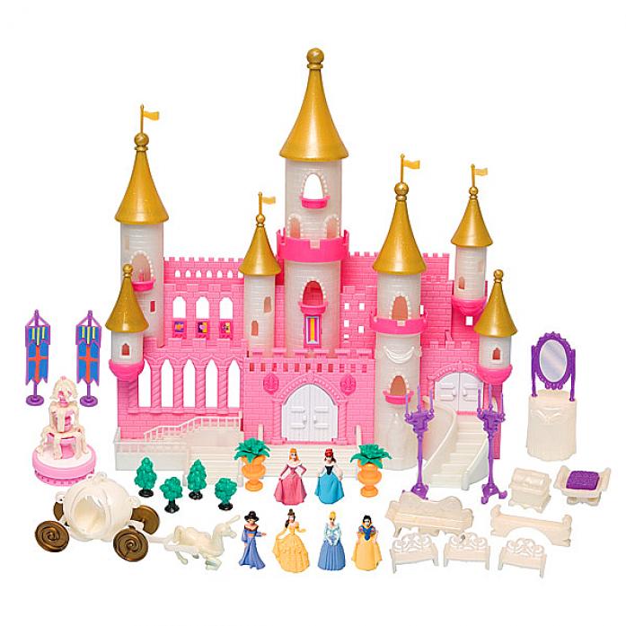 Игровой набор Boley Волшебный замок с золотыми башнями 40861