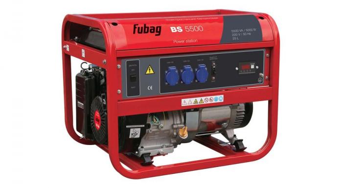 Бензиновая электростанция FUBAG BS 5500 A ES 838203