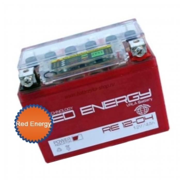 Аккумуляторная батарея Red Energy RE 12-04