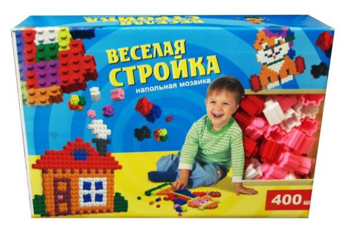 Мозайка ЭРА Веселая стройка 400шт С-165-57238307
