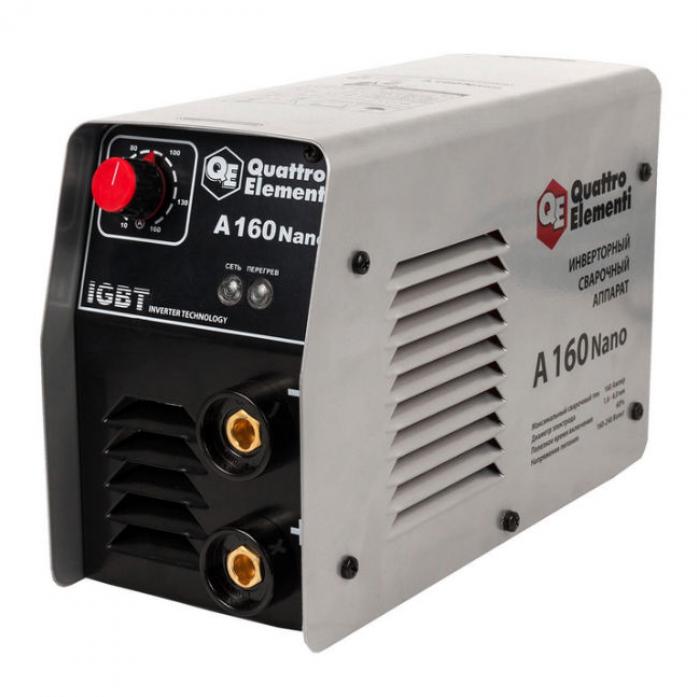 Инверторный аппарат электродной сварки QUATTRO ELEMENTI A 160 Nano 643-255