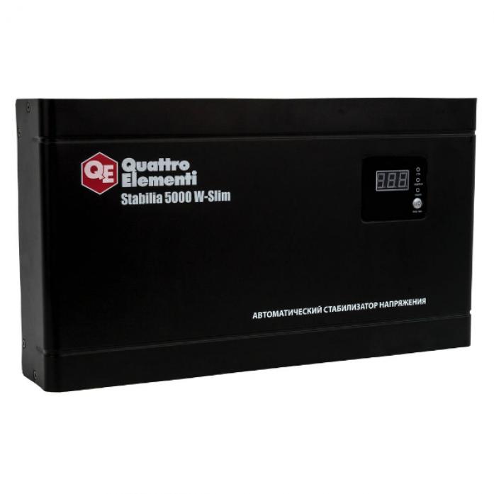 Настенный стабилизатор напряжения QUATTRO ELEMENTI Stabilia 5000 W-Slim 640-544