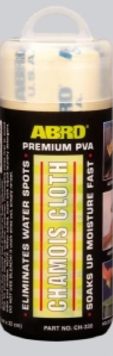 Салфетка ABRO замшевая малая (42,5x32,5 см) CH-550