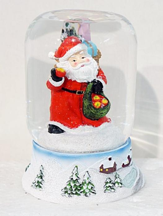Шар декоративный Новогодняя сказка Дед Мороз 972089