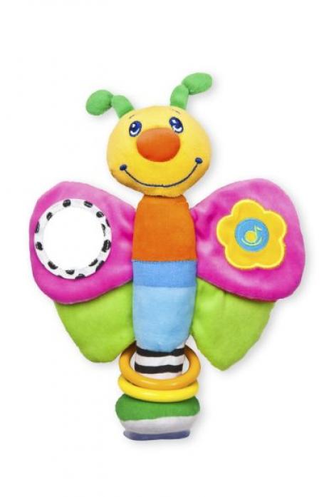 Игрушка Жирафики Мотылек на присоске 93532