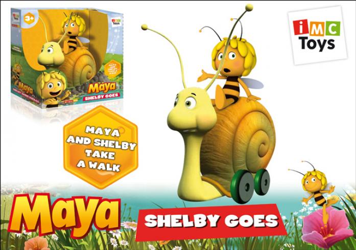 Каталка Imc Toys Улитка с пчелкой Maya 200104