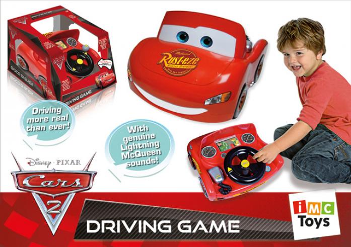 Машина-игра Imc Toys Юный водитель Cars2 250086