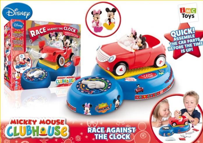 Машинка Imc Toys Гонка на время Mickey Mouse 181083