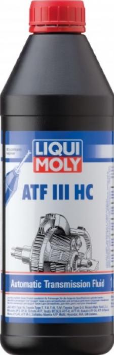 Масло трансмиссионное LIQUI MOLY 3946 ATF III HC для АКПП (1л) Синт