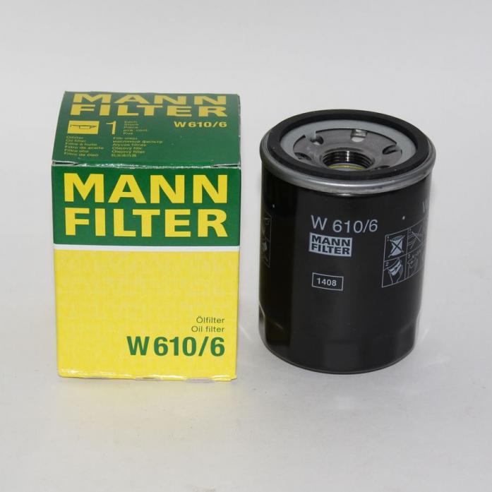 Фильтр масляный MANN W 610/6 LancerIX, X