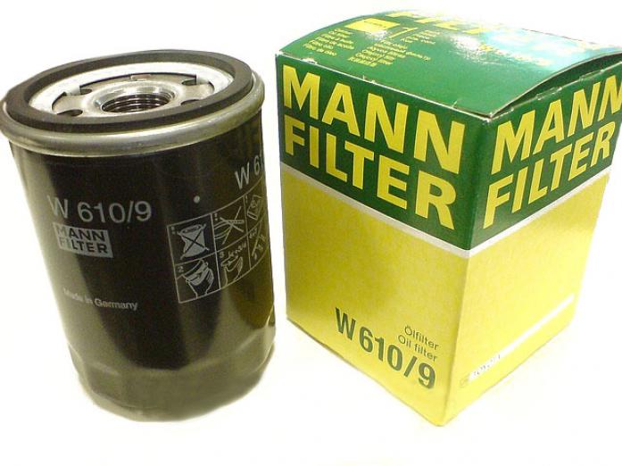 Фильтр масляный MANN W 610/9