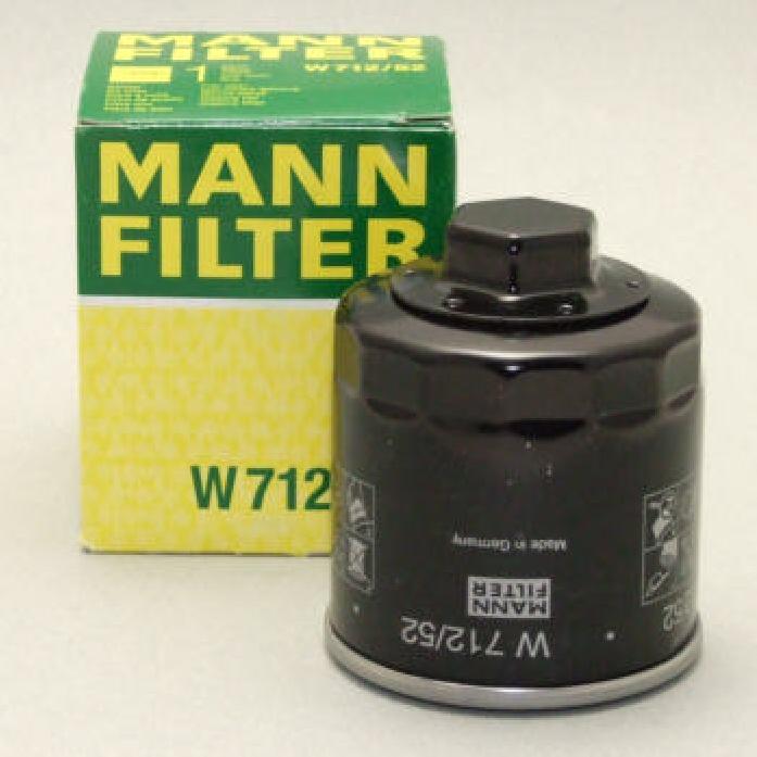 Фильтр масляный MANN W 712/52