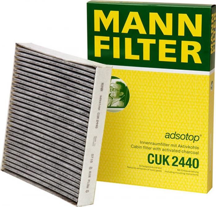 Фильтр салонный MANN CUK 2440