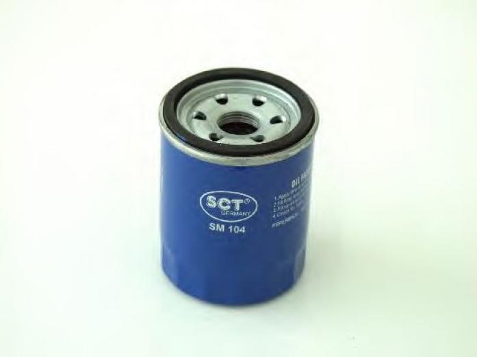Фильтр масляный SCT SM-104 Lancer X 2.0 2007-> (MD352627, MD690115)