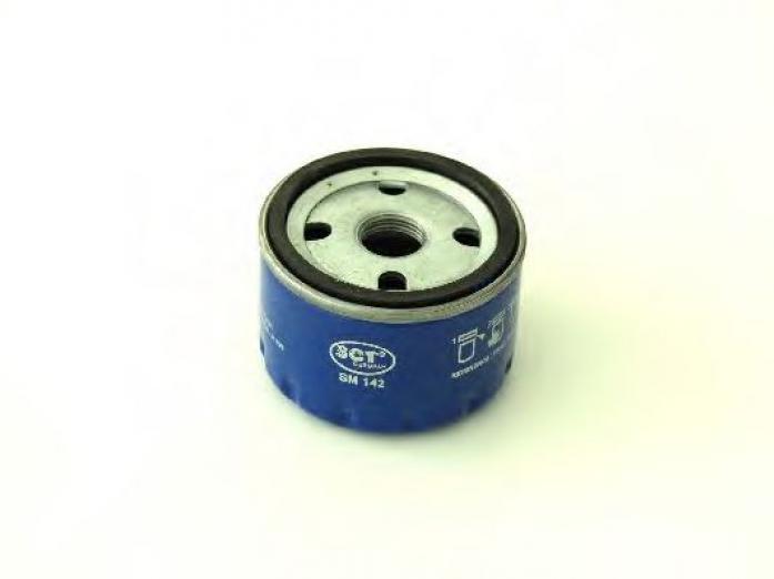 Фильтр масляный SCT SM-142 Logan