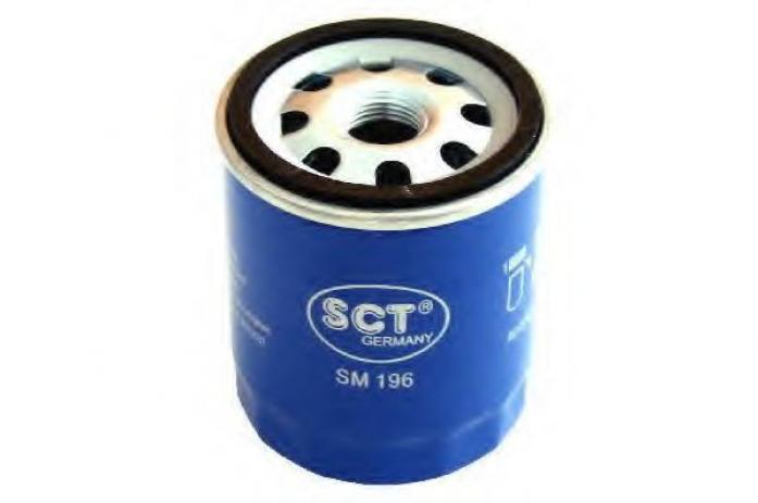 Фильтр масляный SCT SM-196 Mondeo - III, Focus II
