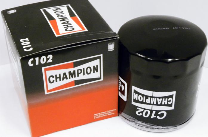 Фильтр масляный Champion C102/606 ВАЗ 2101-07